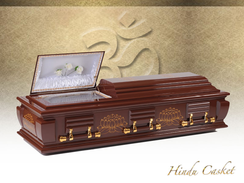 9 Lotus Casket Package