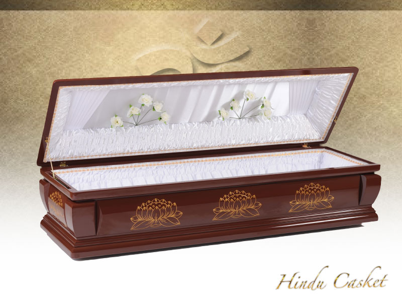 9 Golden Lotus Casket